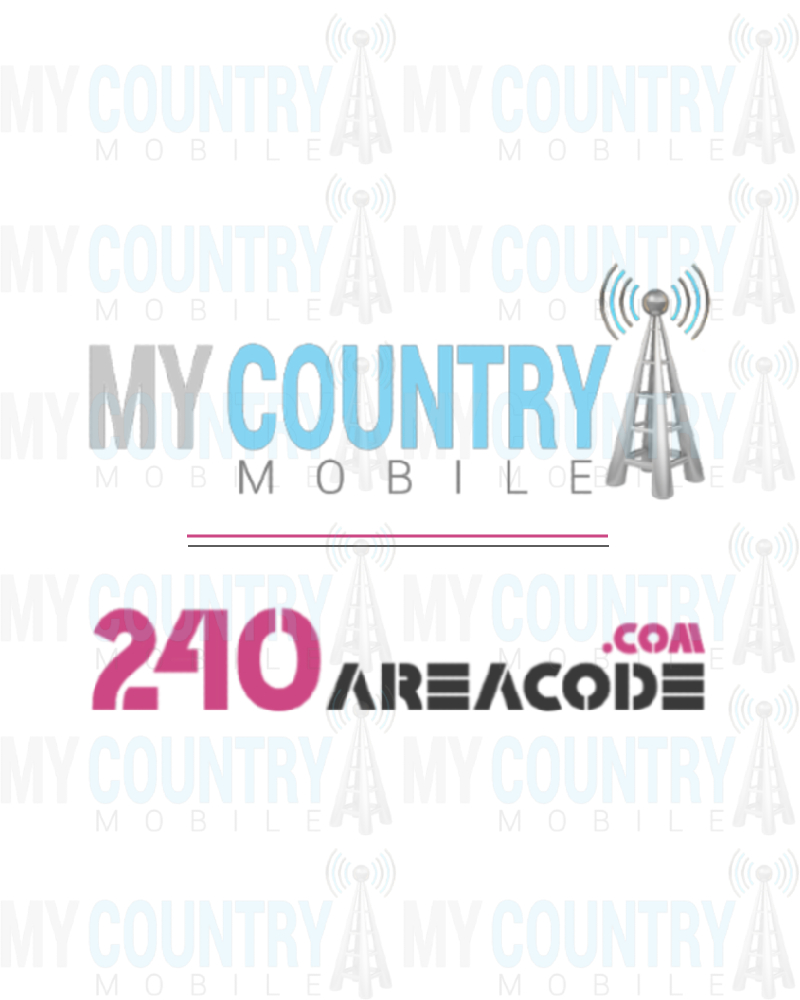 240 area code- My country mobile