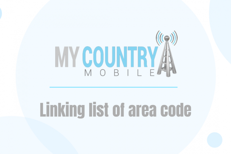 Linking list of area code - My Country Mobile